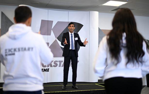 0 Chancellor Rishi Sunak Promotes New Kickstart Jobs Plan