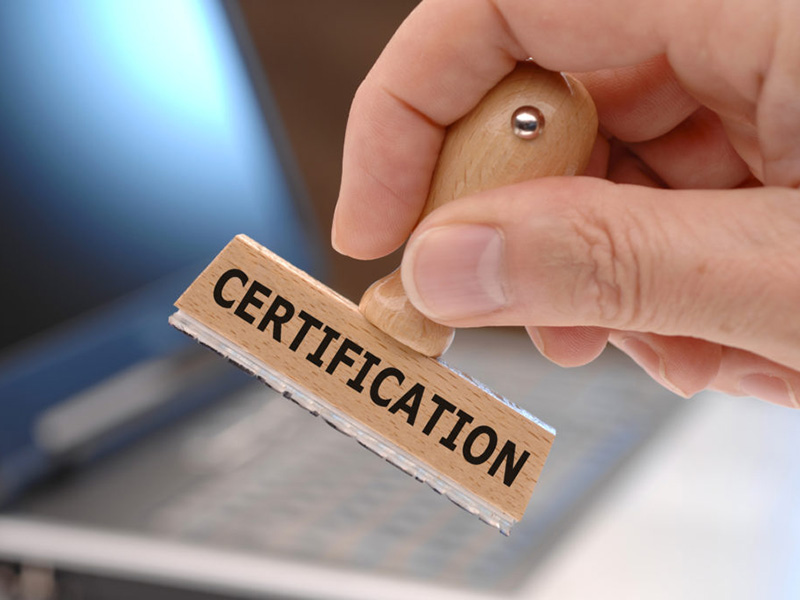 A Level Certification