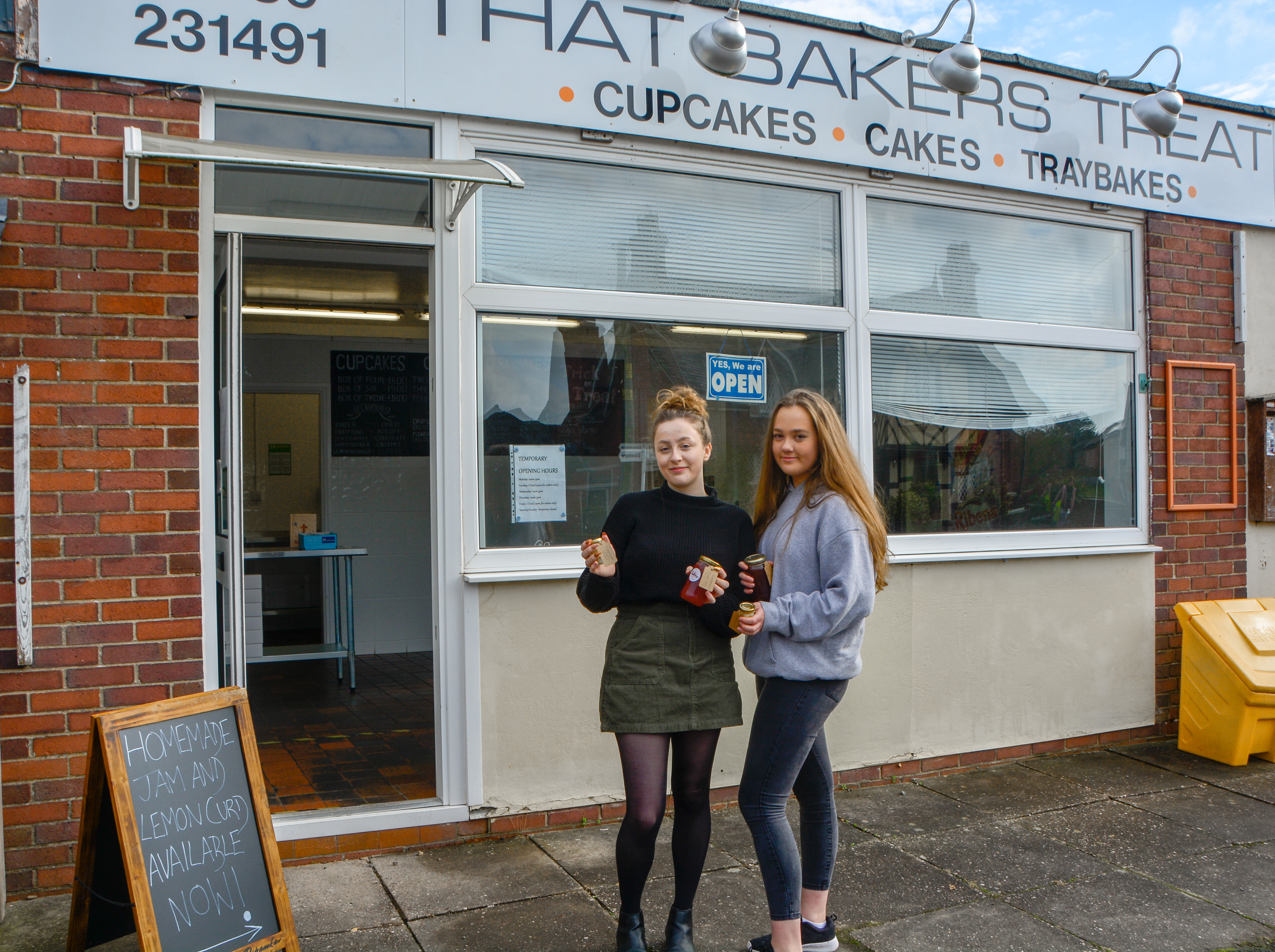 Beth Beeson and Chloe Cornall open bakery