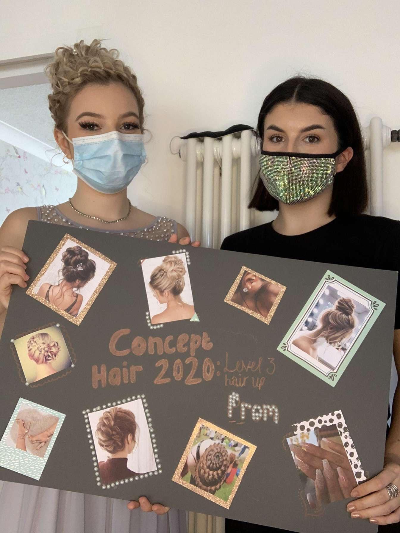 Lauren Hobbs wins Concept Hair Magazine with Model