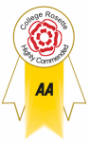 Origins the College holds the Highly Commended Rosette award