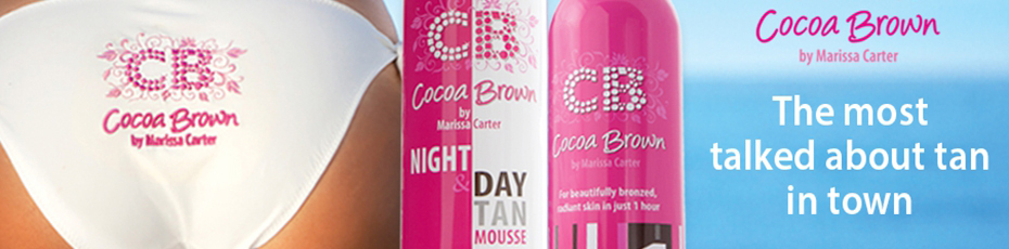 Cocoa Brown tanning products