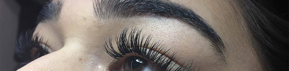 Eyebrow and eyelash treatments