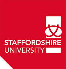 StaffsUni logo red
