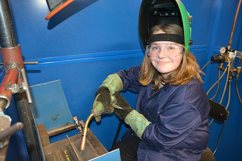 Lily Glanville an Apprenticeship in Fabrication Welding